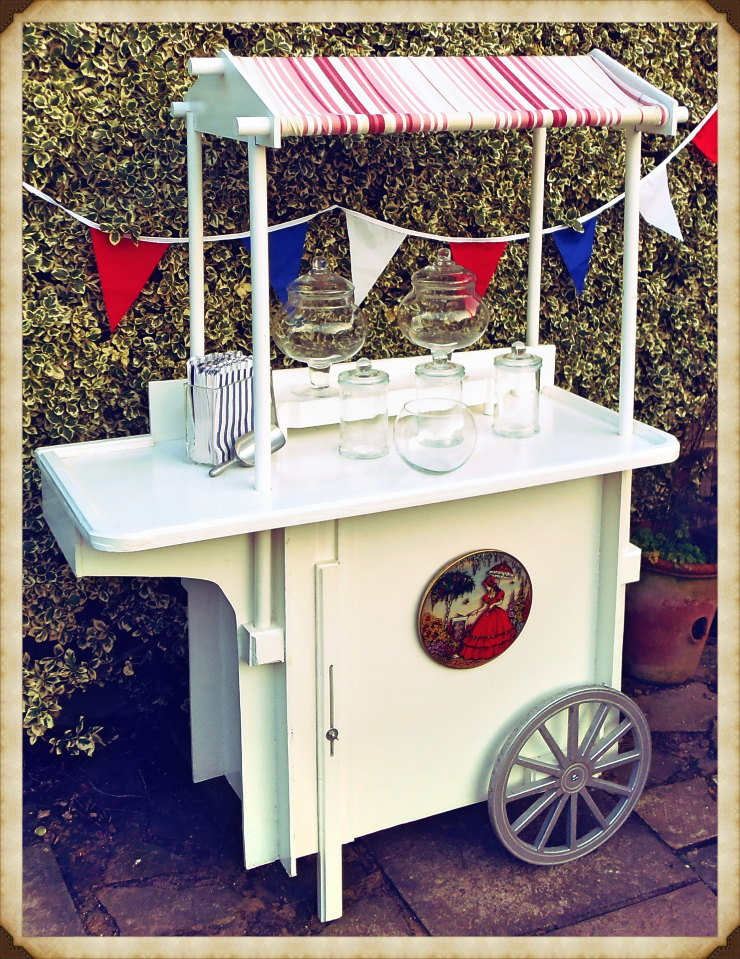 Candy Cart Hire Norfolk - Vintage Partyware Blog - Alternative Wedding Cake - Wedding Hire Norfolk