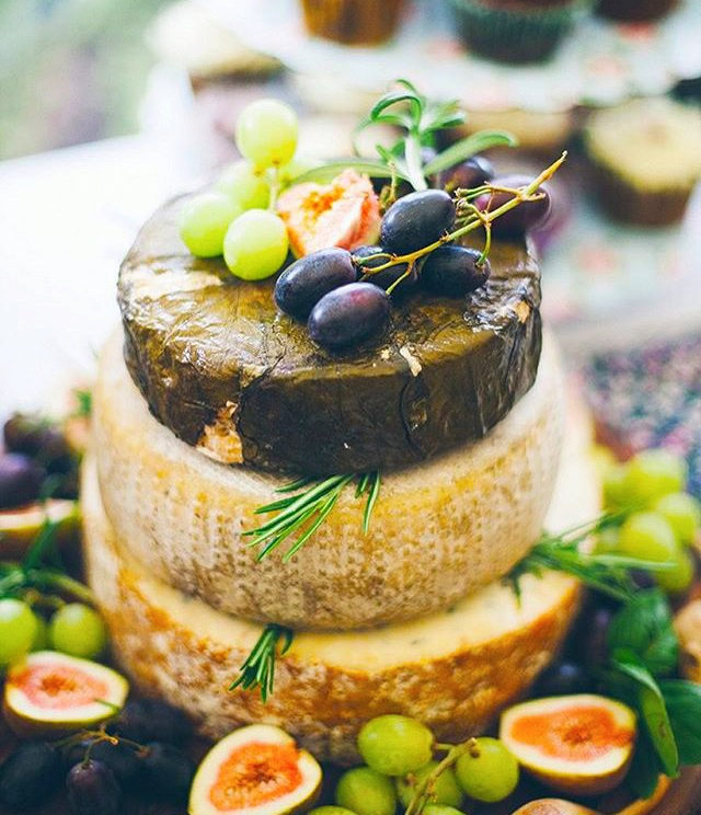 Cheese Wedding Cake - Vintage Partyware Blog - Alternative Wedding Cake - Wedding Hire Norfolk