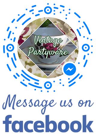 Message Vintage Partyware Facebook - Wedding hire Norfolk