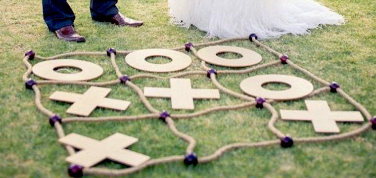 Noughts Crosses Wedding Lawn Games Vintage Partyware Wedding Hire Norfolk