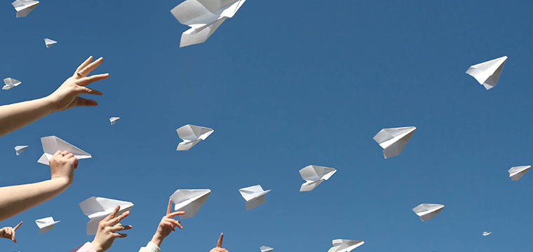 Paper Planes Wedding Confetti Options Vintage Partyware Wedding Decorations Props Hire Norfolk