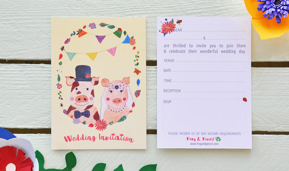 Frog Wedding Invitations: Frog & Pencil's Top Ten Tips For Wedding Stationery