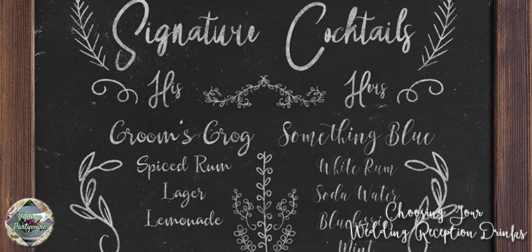 Signature Cocktails Choosing Your Wedding Reception Drinks Vintage Partyware Blog Wedding Hire Norfolk