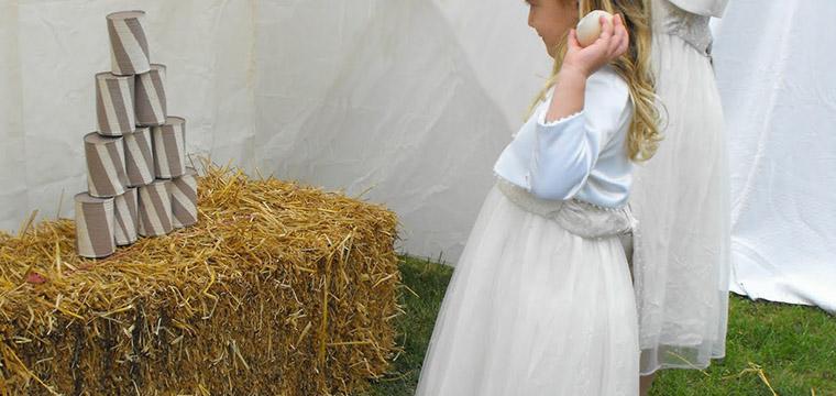 Tin Can Alley Wedding Lawn Games Vintage Partyware Wedding Hire Norfolk