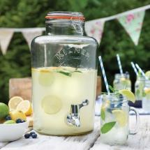 Vases Vessels Hire Norfolk - Kilner Drinks Dispenser Wedding Drinks - Vintage Partyware