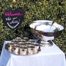 Vases Vessels Hire Norfolk Punch Bowl Cups Wedding Drinks Vintage Partyware