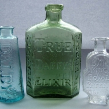 Vases Vessels Hire Norfolk - Vintage Glass Bottles - Vintage Partyware