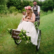 Rickshaw Wedding Transport Props Hire Norfolk Vintage Partyware Event Decorations Kings Lynn Norwich
