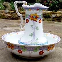 Vintage China Hire Norfolk Jug Basin Vintage Partyware Wedding Hire