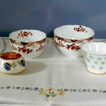 Vintage China Hire Sugar Bowl Vintage Partyware Wedding Hire