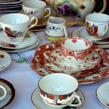 Vintage China Hire Wedding Norfolk - Vintage Partyware