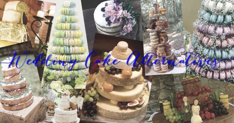 Let them eat cake! Wedding Cake Alternatives