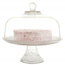 Wedding Cake Hire Norfolk - Vintage Glass Cloche - Vintage Partyware