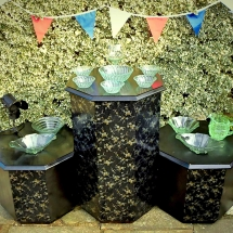 Wedding Candy Cart Hire Art Deco Side Station Vintage Partyware Wedding Hire Norfolk