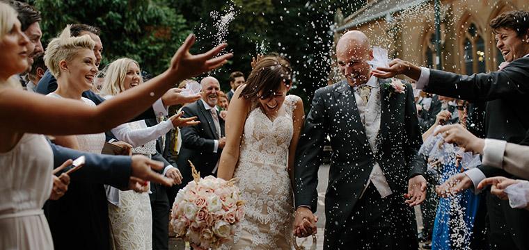 Creative Wedding Confetti Options