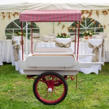 Candy Cart Hire Drinks Trolley Hire Wedding Party Norfolk - Vintage Partyware