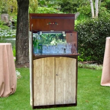 Wedding Furniture Hire Norfolk - Drinks Cabinet - Vintage Partyware