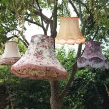 Wedding Furniture Hire Norfolk - Lampshades - Vintage Partyware
