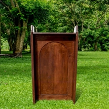 Wedding Furniture Hire Norfolk - Oak Church Lectern - Vintage Partyware