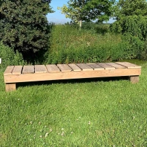 Wedding Furniture Hire Norfolk - Pallet Benches Rustic Seating - Vintage Partyware