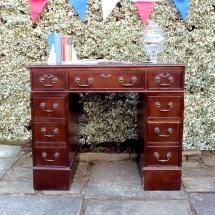 Wedding Furniture Hire Norfolk - Writing Desk Guest Book - Vintage Partyware