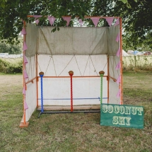 Garden Game Hire Wedding Norfolk - Vintage Partyware