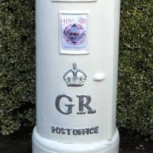 Wedding Post Box Hire Tall White Pillar Box Royal Mail Vintage Partyware Wedding Decoration Hire Norfolk