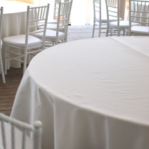 White Tablecloths Wedding Chair Covers Bunting Table Linen Hire Norfolk Vintage Partyware Wedding Decorations Props