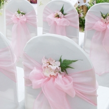Chair Cover Hire Wedding Norfolk - Vintage Partyware