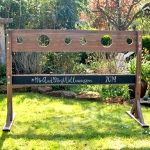 Double Wooden Stocks Throw Sponge Wedding Games Hire Norfolk Vintage Partyware Event Decorations Kings Lynn Norwich
