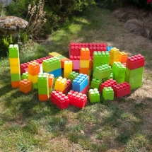 Giant Lego Building Blocks Wedding Games Hire Norfolk Vintage Partyware Event Decorations Kings Lynn Norwich
