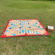 Giant Scrabble Wedding Games Hire Norfolk Vintage Partyware Event Decorations Kings Lynn Norwich