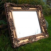 Ornate Framed Mirror Wedding Sign Hire Wedding Signage Norfolk Vintage Partyware