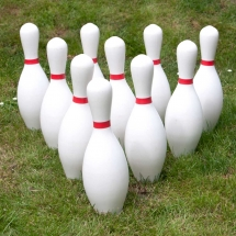 Ten Pin Bowling Large Wedding Games Hire Norfolk Vintage Partyware Event Decorations Kings Lynn Norwich
