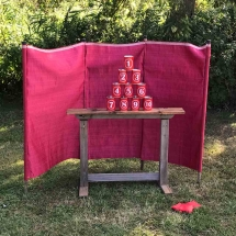 Tin Can Alley Wedding Games Hire Norfolk Vintage Partyware Event Decorations Kings Lynn Norwich