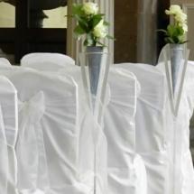 Vases Vessels Hire Norfolk - Aslei Stands Pew Ends Flowers - Vintage Partyware