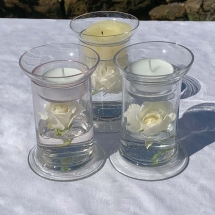 Vases Vessels Hire Norfolk - Posy Vase Tealight Holder - Vintage Partyware