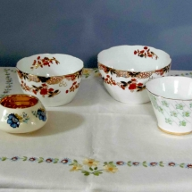 Vintage China Hire Sugar Bowl Vintage Partyware Wedding Hire