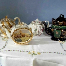 Vintage China Hire Teapot Vintage Partyware Wedding Hire