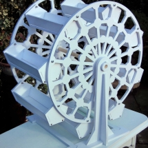 Wedding Candy Cart Hire Ferris Wheel Carousel Vintage Partyware Wedding Hire Norfolk