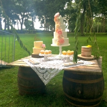 Wedding Candy Cart Hire Large Barrels Rustic Wedding Side Table Vintage Partyware Wedding Hire Norfolk