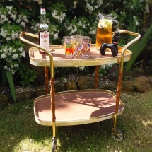 Wedding Drinks Trolley Hire Vintage Trolley Vintage Partyware Wedding Hire Norfolk