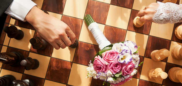 On Trend: Wedding Lawn Games