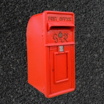 Wedding Post Box Hire Red George VI Royal Mail Vintage Partyware Wedding Decoration Hire Norfolk