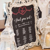 Wedding Sign Hire Norfolk Vintage Partyware