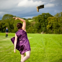 Welly Wanging Throwing Giant Wedding Games Hire Norfolk Vintage Partyware Event Decorations Kings Lynn Norwich Ely